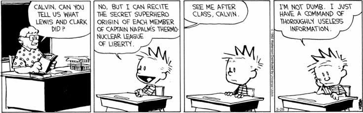 Calvin and HobbesFunny Paper, Life, Laugh, Calvin Hobbes, Bill Watterson, Random Hilarious, Funny Stuff, Calvin And Hobbes, Comics