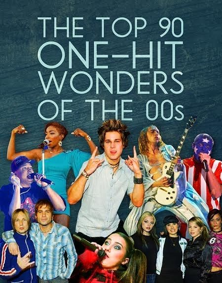 The Top 90 One-Hit Wonders Of The 2000s - Flash back to my teenager- early 20's years!