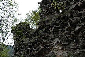 Château du Rosemont --  Région Franche-Comté   Département Territoire de Belfort   Commune Riervescemont