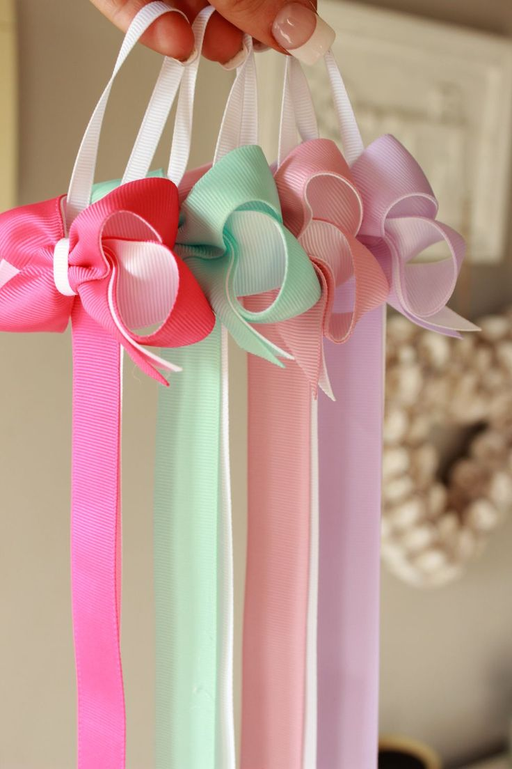 Clip Holders!! via The Bow Boutique. Click on the image to see more!