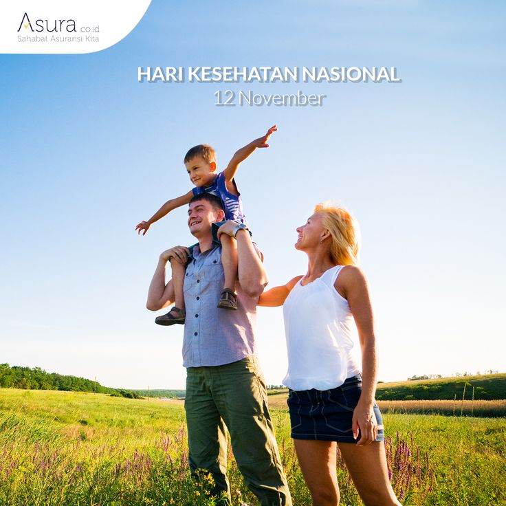 Kesehatan itu penting dan tak ternilai harganya. Yuk segera lindungi diri Anda dan keluarga dengan asuransi kesehatan. Selamat Hari Kesehatan Nasional :)