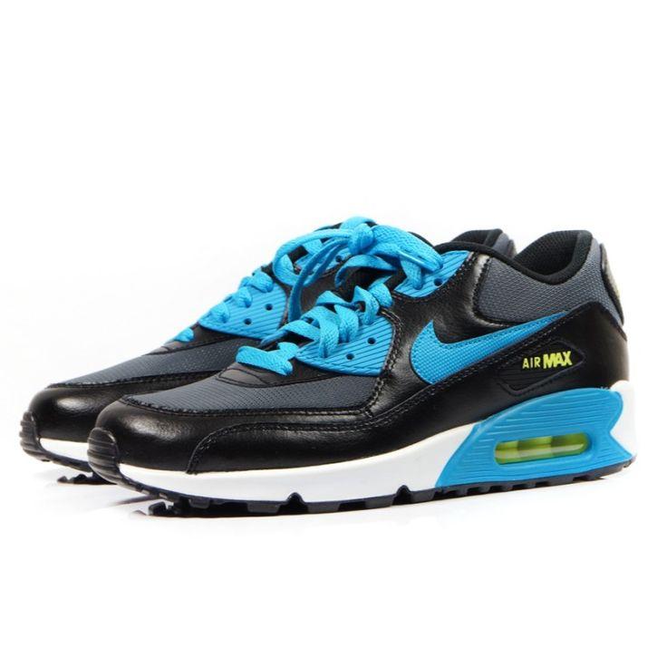 Nike air max 90 mesh (GS) 724824-004- Buty sportowe - Sklep solome.pl