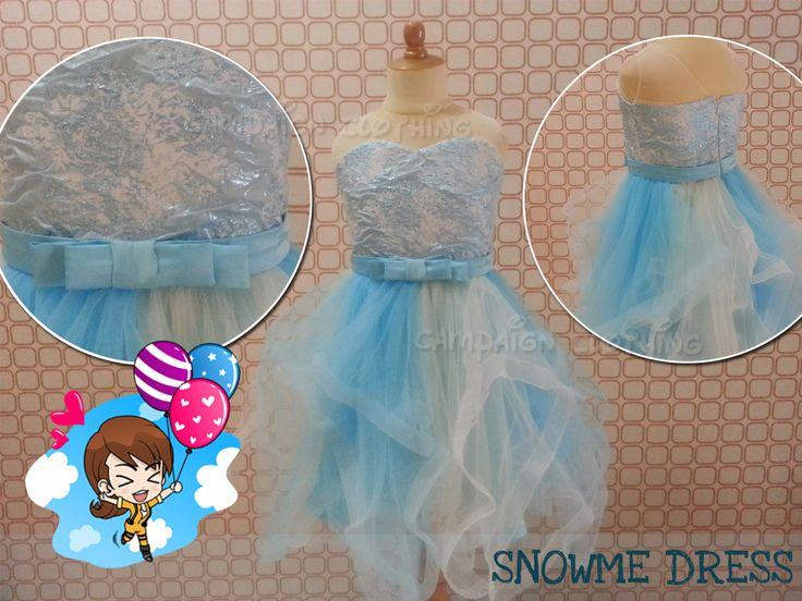 MM226 Snowme Dress for kids 1-12y and Moms. Order by BB 28307189, WA/Line 081-330686508 Mumu Stuff. Merk Campaign Clothing. High Quality. Happy Shopping JBU