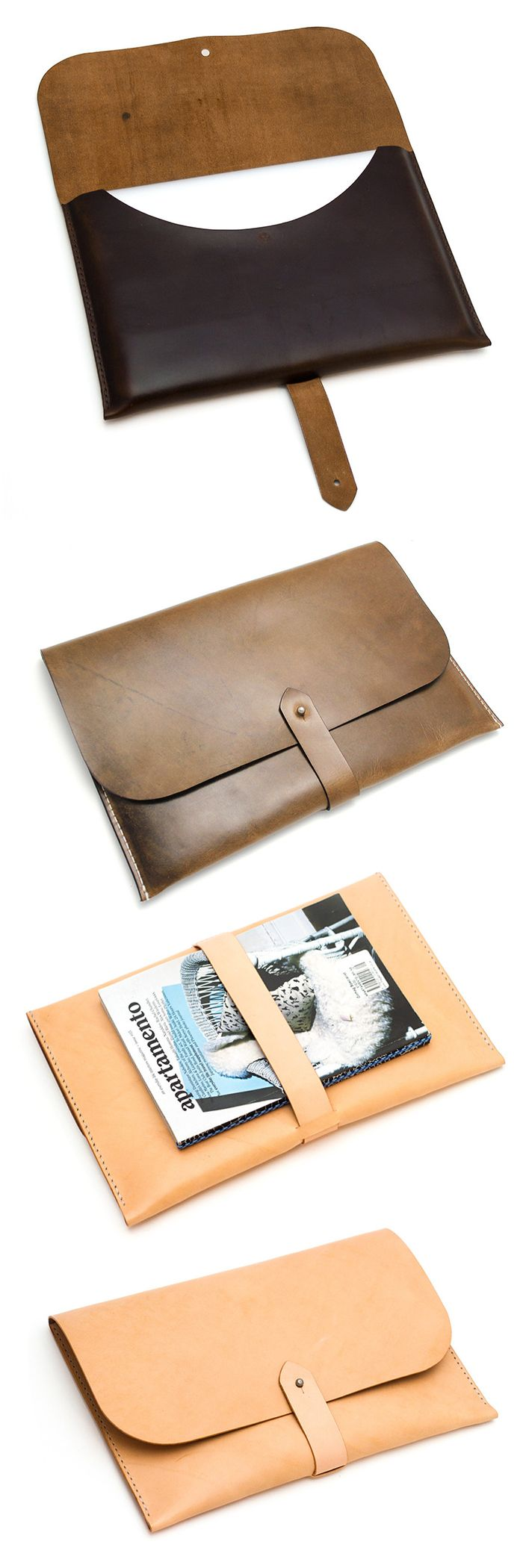 Leather Passport Case - Glistening Passport Case by VIDA VIDA Z92vcs