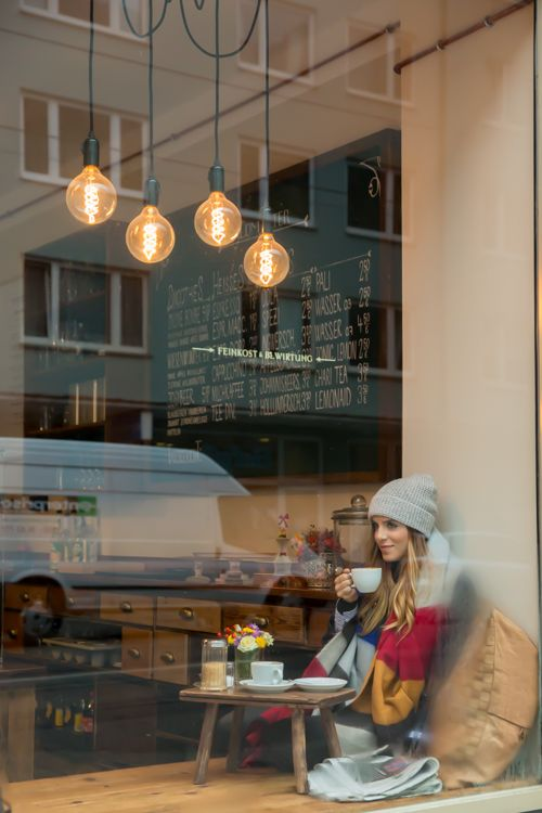 May we join you for a #Coffee? What a perfect #CoffeeShop to get in from the cold in the winter months
