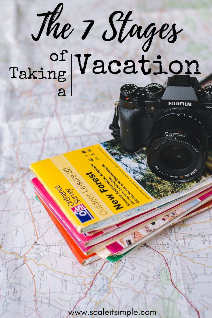 The 7 Stages Of Taking A Vacation