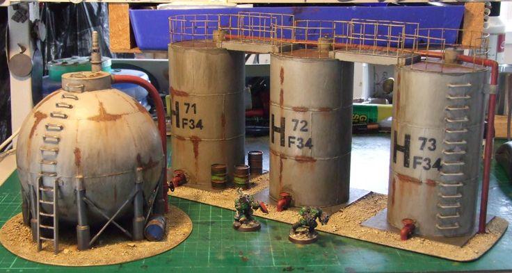 Storage tanks by Bugbait_NZ