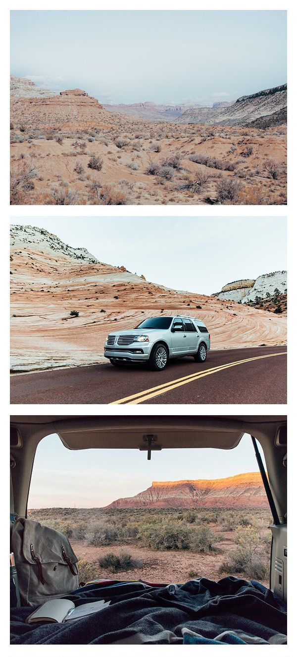 Even if best way to explore a new landscape is by foot, you can end the day in the back seat of your 2015 Lincoln Navigator. With huge cargo space fit for a bed and a full lift gate for expansive views, car camping just got better.