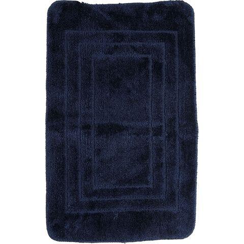 Badrumsmatta, 50x80 cm, blå, 3401600