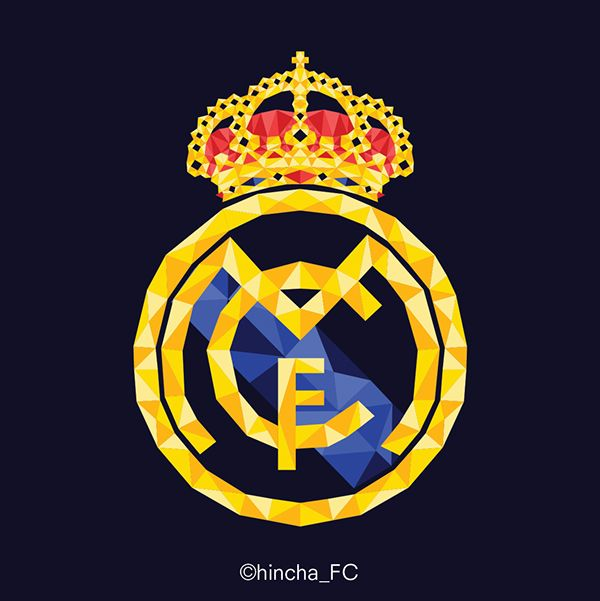 Real Madrid Logo Wallpaper Hd: Low Poly Vector Designs On Behance
