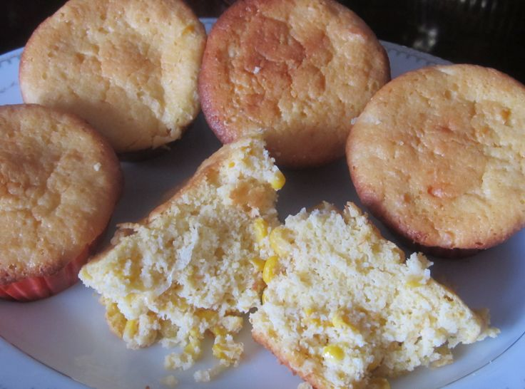 Company Spoon Bread Muffins my son-in-laws recipe and favorite