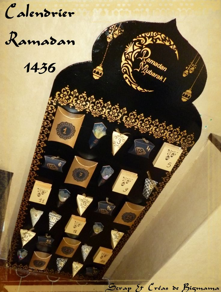 Mon calendrier Ramadan sur ma page facebook---> https://www.facebook.com/pages/Scrap-Cr%C3%A9as-de-Bigmama/124634741058020