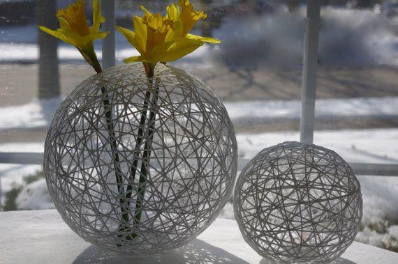 Decorative Hanging String  Lanterns/Lights or Globes (8-globes) on Etsy, $83.00