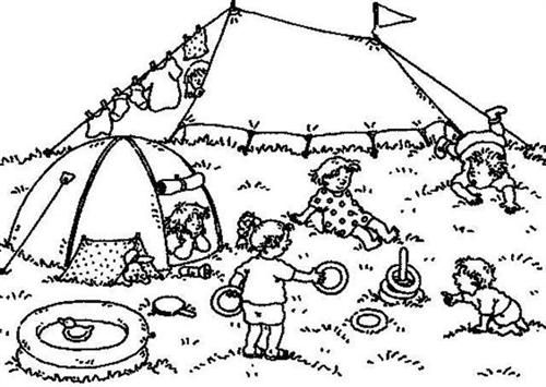 Free printable preschool coloring pages 09 for kids. Print