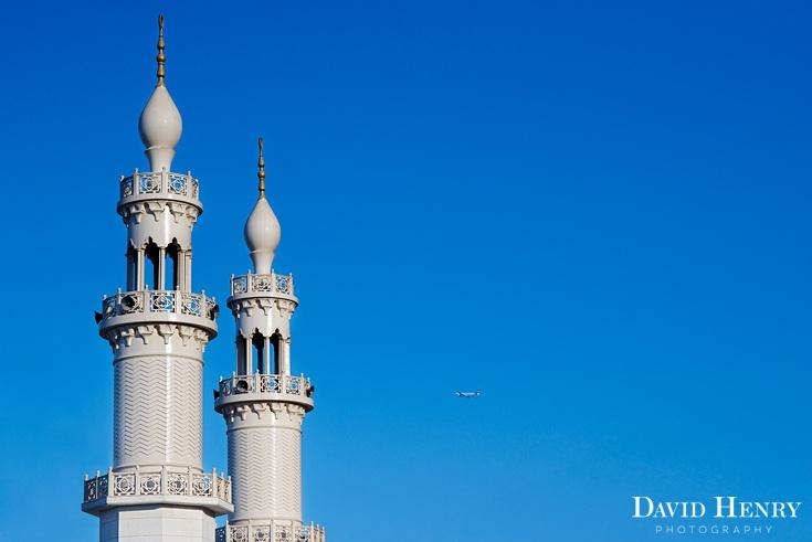 Dubai new mosque being built. David Henry Photography