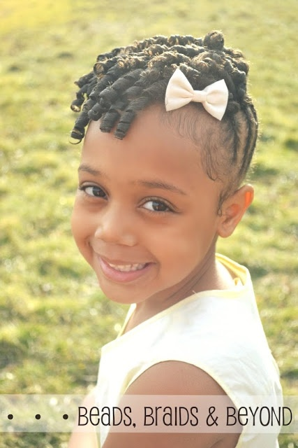 Little Girl Hairstyles Braids and Beads