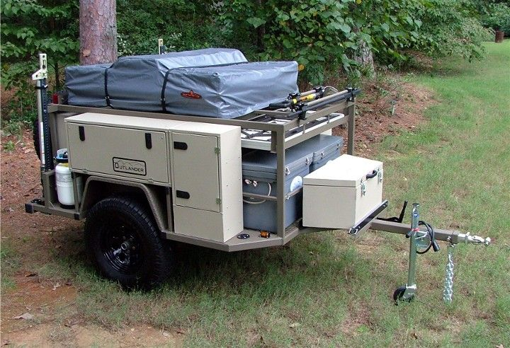 Original  Trailer Truck Camper Jeep 4x4 Campers Forward Military Camping Trailer