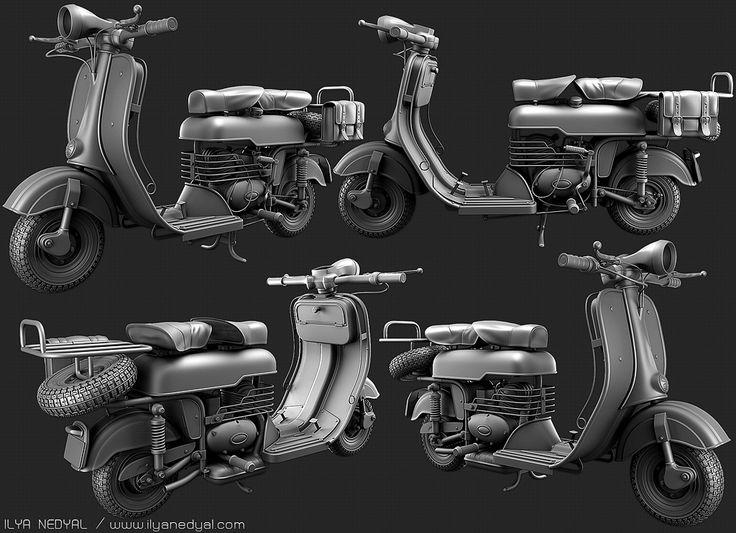 [Portfolio] – Ilya Nedyal / Environment, Weapon and Vehicle Artist. - Polycount Forum