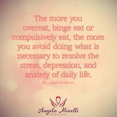 #Binging, #overeating, and #compulsiveeating are band aids for what's really going on just below the surface.