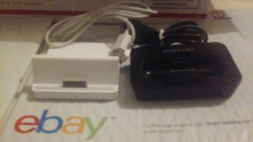 LOT OF 2 Samsung AH96-00051c Ipod Dock And APPLE IPad Dock A1352 With Cable