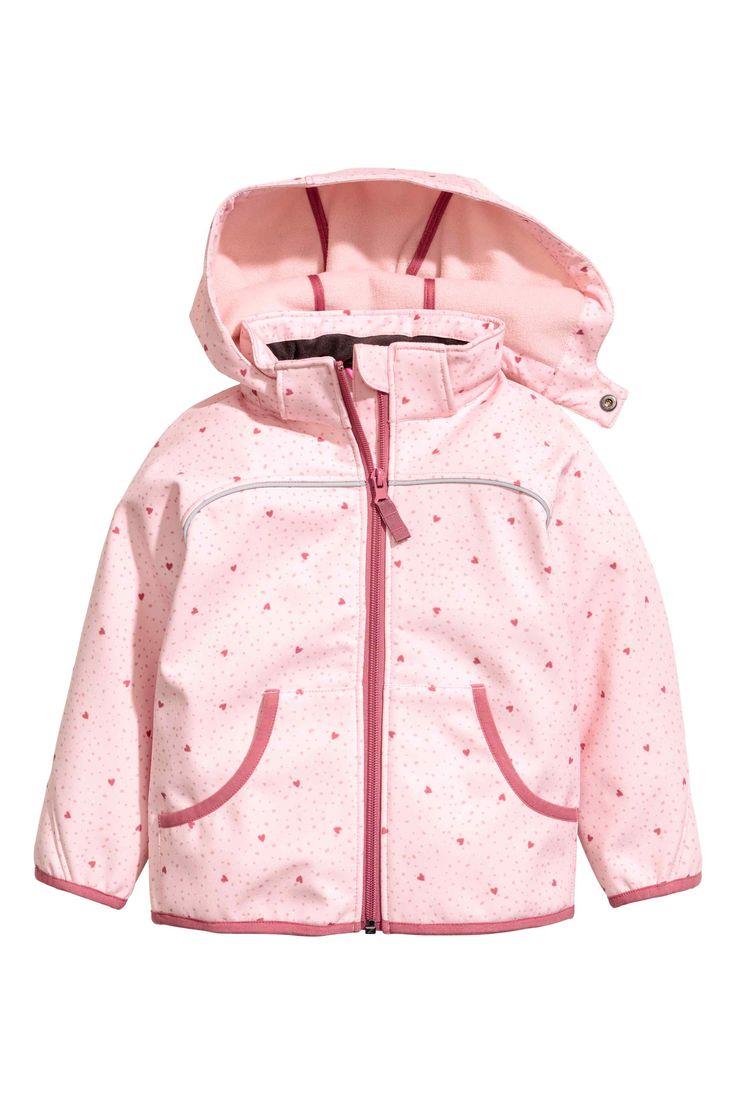 Giacca softshell - Rosa chiaro/cuori - | H&M IT 35E