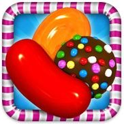 Candy Crush Saga. You should try it. Be forewarned though, it is addicting! #ptelmobile #ptel