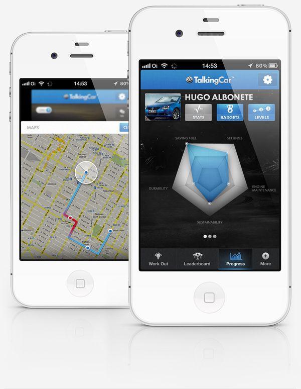 Talking Car™ by Hugo Albönete, via #Behance #Mobile
