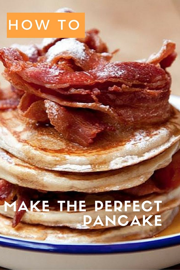 Don't get us wrong, crepes are great. But, small fat towers of American pancakes are better. Here's how to make The Breakfast Club's famous pancakes.