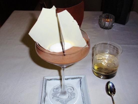 """Marco Pierre White - Chocolate mousse with italian meringue [""""Repinned by Keva xo""""]."""