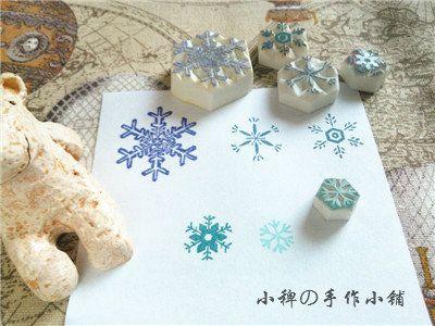 [Руководство] Barnyard Рождество особенным для маленькой снежинки · ручной штамп / печать - Taobao