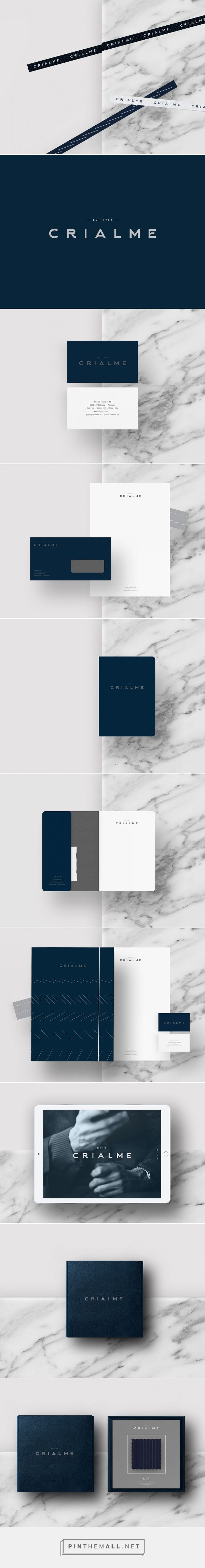 Crialme High-Quality Garment Production Branding by Bullseye | Fivestar Branding Agency – Design and Branding Agency & Curated Inspiration Gallery