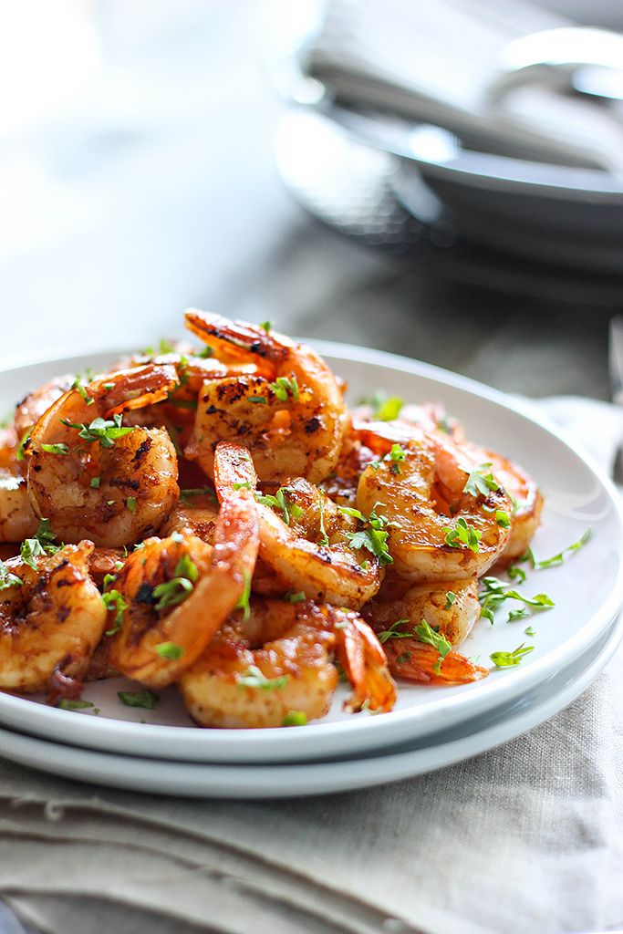 Browned Butter Shrimp Skillet - This quick and easy shrimp skillet packs enough flavor to stand alone, but tastes great over pasta.