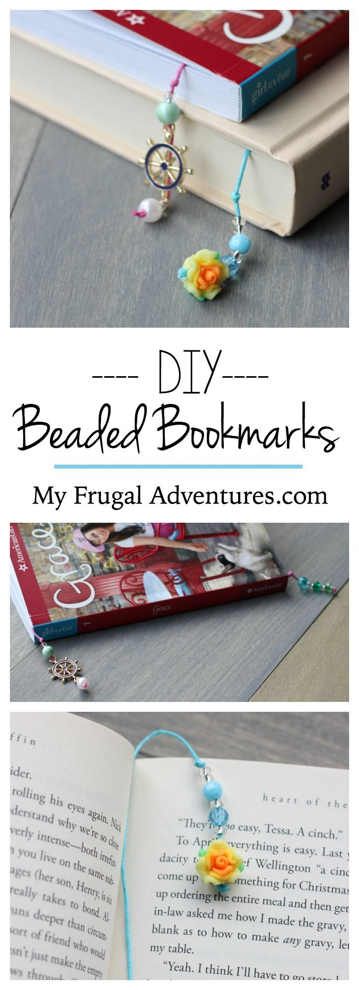 DIY Beaded Bookmarks Fun Childrenu0027s Craft 308