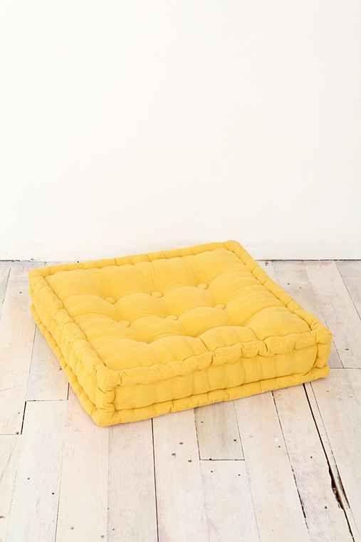 Tufted Corduroy Floor Pillow Catalog, Pillows and Floor pillows