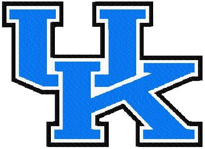 16 University Of Kentucky Applique And Filled Logo By