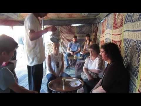 Viagem Medieval 2016 Chá na tenda marroquina