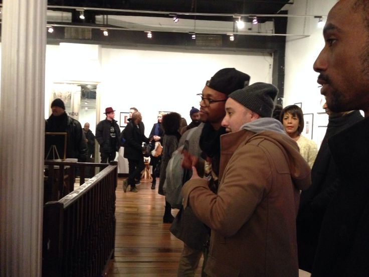 Art exhibition of original work by Lupe Fiasco showing at 60 Reade