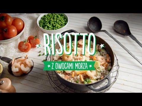 Włoskie smaki w Biedronce - Przepisy - Risotto z owocami morza
