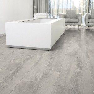 Aquastep Waterproof Laminate Flooring Oak Grey V-Groove
