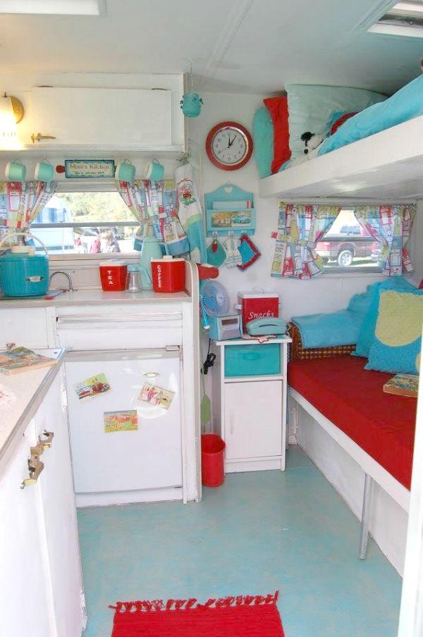 3061 Best Images About Vintage Camper Decor On Pinterest