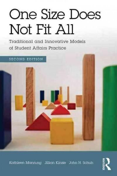 In the day-to-day work of higher education administration, student affairs professionals know that different institutional typeswhether a small liberal arts college, a doctoral intensive institution,