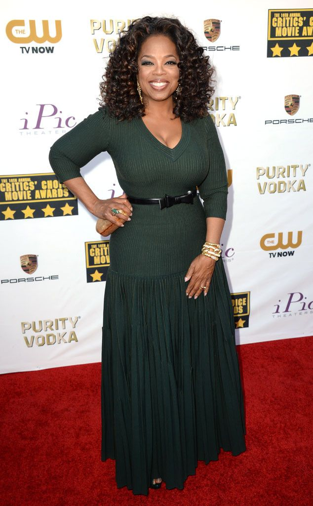 I hope I look this good in 20 years! Oprah Winfrey Celebrates Her 60th Birthday and Reflects on Her Life's Legacy  Oprah Winfrey, Critics' Choice Movie Awards