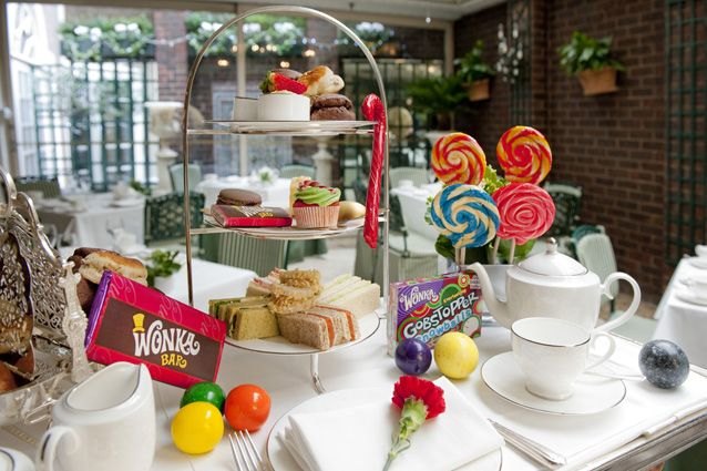 £32.50 Charlie and The Chesterfield Afternoon Tea - AfternoonTea.co.uk