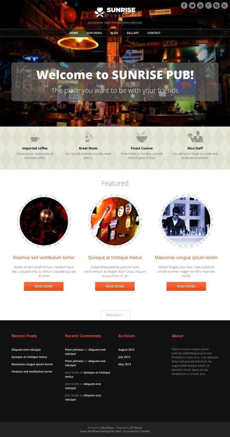 9 best Wordpress images on Pinterest | Website, Wordpress free and ...