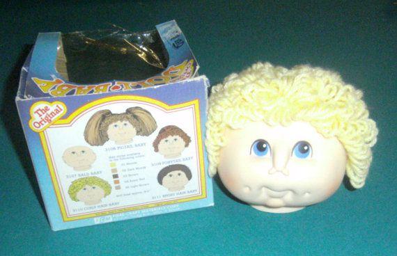 Original Doll Baby Head  Martha Nelson Thomas Doll by carriesattic