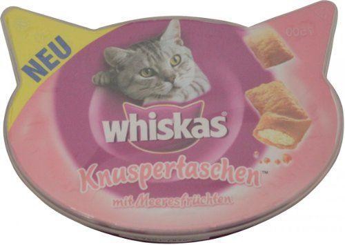 Whiskas Knuspertasche mit Meeresfrüchten 60g Mars GmbH http://www.amazon.de/dp/B005OXZNPA/?m=A1PA6795UKMFR9