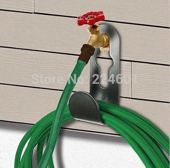 Black Holder and Support for X hose and X Hose Pro Home and Garden Hose Storage
