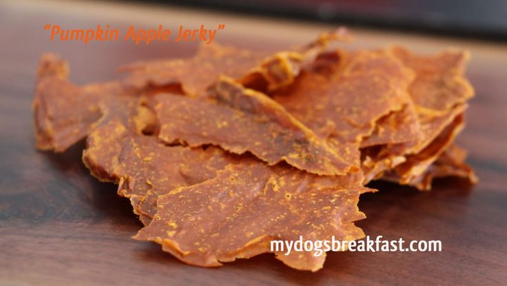 Pumpkin Apple Jerky