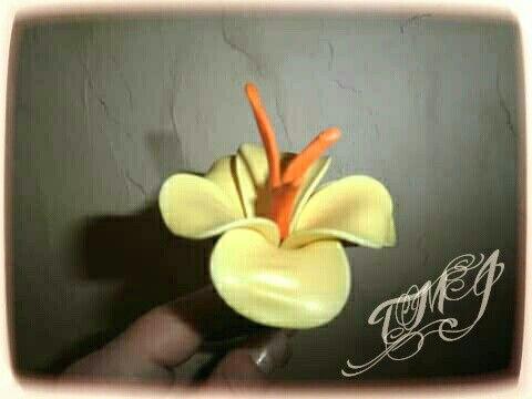 Balloon fantasy flower by TMJcreative.  Lufi virág.