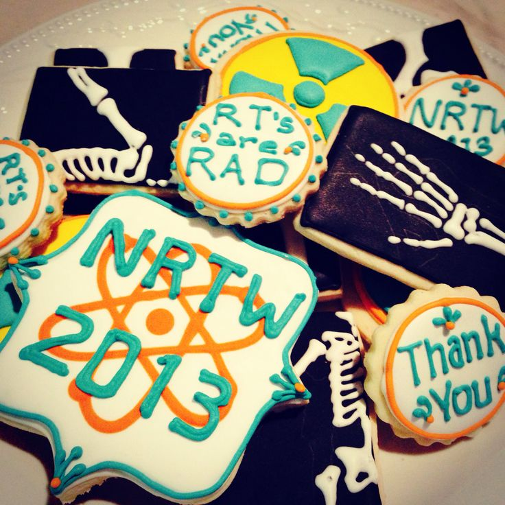 National Radiologic Technology Week 2013 cookie assortment. Nrtw 2013